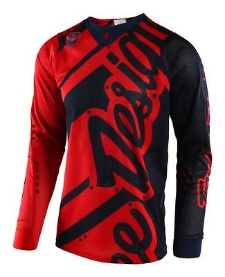 Troy Lee Designs Se Air Jersey 2018 Shadow Red/navy - On Sale!!!!