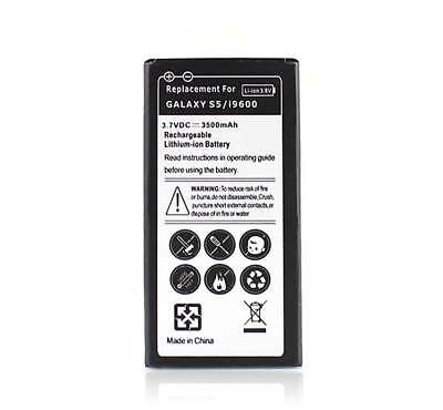 NEW 3.7v 3500mAh Rechargeable Battery Replacement For Samsung Galaxy S5 i9600