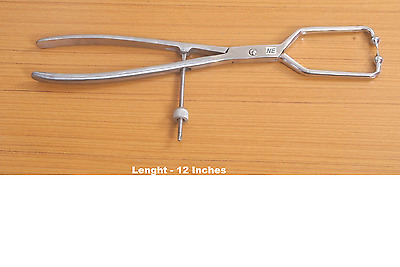 SS Stainless Steel Pelvic Reduction Forceps 12 in Orthopedic Instruments