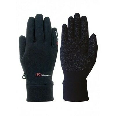 (Black, 10.5) - Roeckl Polartec Gloves. Huge Saving