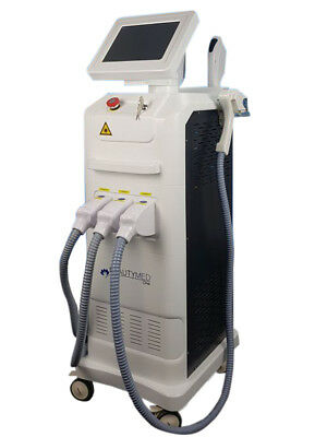 Profi ICE Diodenlaser + IPL + SHR + RF ALL in One Laser Gerät ELIGHT BeautyMed