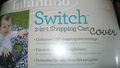 SWITCH Padded Shopping Cart Cover for Baby and young child NEW