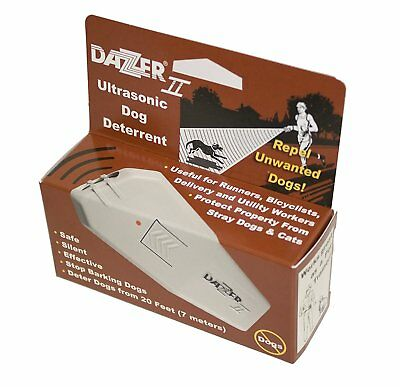 DAZER II Ultrasonic Aggressive Dog Deterrent Repeller DAZER