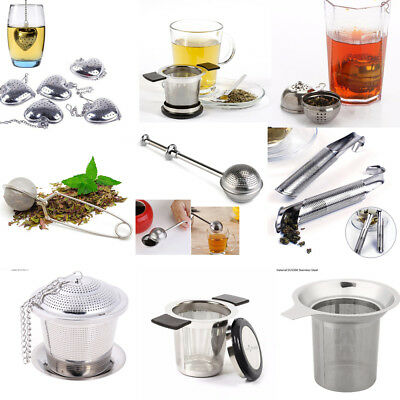 304 Stainless Steel Fine Mesh Filter Tea Infuser Fine Reusable Strainer