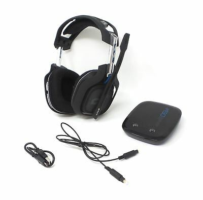 Astro Gaming A50 Wired Stereo PS4 Gaming Headset for Playstation 4 Blue See Desc