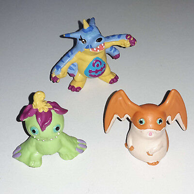 Digimon Figuren Gabumon & Patamon & Palmon - Bully Germany / Sammlung