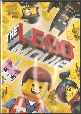THE LEGO MOVIE [2014] New & Sealed DVD