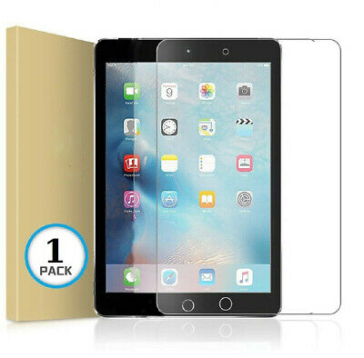 Genuine 100% Tempered Glass Screen Protector Cover for New Apple iPad 9.7 (2018)