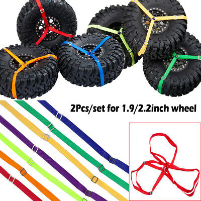 3-Point Spare Tire Tie Down Strap For Traxxas Unlimited Desert Racer 1/7 RC UDR