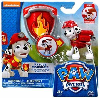 Paw Patrol Action Pack Pup  Badge Rescue Marshall