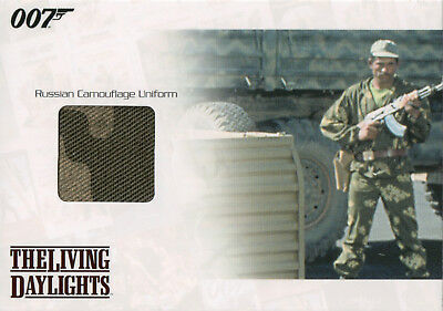 James Bond Mission Logs, Russian Camouflage Unifirm Relic Card #596/875