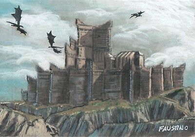 Game of Thrones Season 7, Faustino Sketch Card 1/1