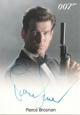 James Bond Classics 2016 - Pierce Brosnan 'James Bond' Autograph Card
