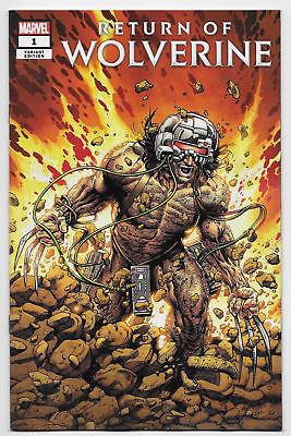 Return Of Wolverine #1 (Of 5) Mcniven Weapon X Costume Variant   Nm !!!