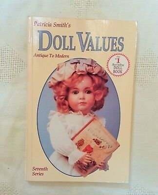 DOLL VALUES ANTIQUE to MODERN COLLECTOR'S BOOK  Reference identify
