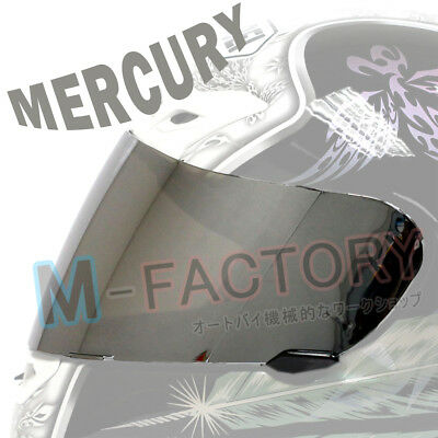 Mercury Shield Visor Fit Shoei Helmet CW-1 X12 RF-1100 XR-1100 X-SPIRIT 2 Qwest