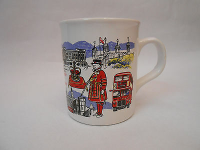 Souvenir of London Big Ben Westminster Coffee Tea Mug Cup Made in England