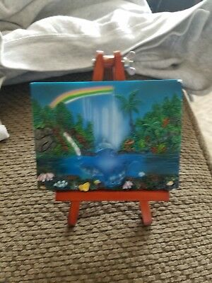 Classic Wildlife Collection Dolphin on easel