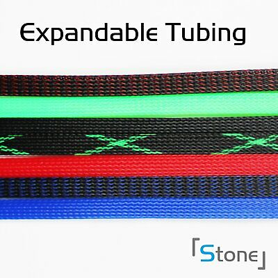 Cable Wire Harness Braided Expandable Sleeve Tube Braiding Sleeving 50FT&100FT