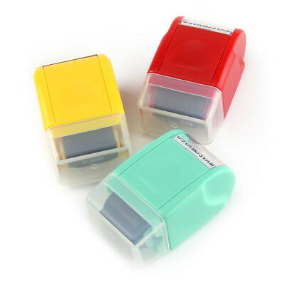 SelfInking Roller Stamp Mini Guard Your ID Messy Code Security Stationery Tool