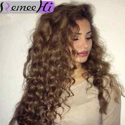 Italian beauty curly full / front lace wig 100% remy human hair wig 130% density