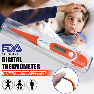 Electronic Oral Under Arm Rectal Alarm Digital Thermometer for Body Child Adult
