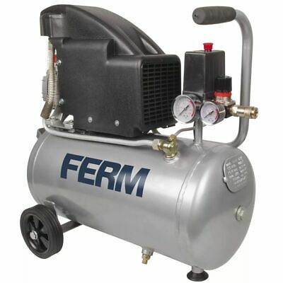 FERM Power Compressor 1,5 HP 1100 W 24 L CRM1045