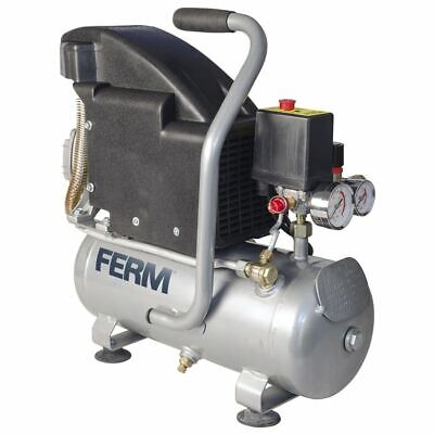 FERM Power Compressor 1,1 HP 750 W 8 L CRM1044