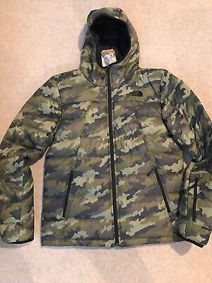 2bd1ec37861a7 THE NORTH FACE Shark Down Padded Jacket Camo Xl Mens Brand New ...