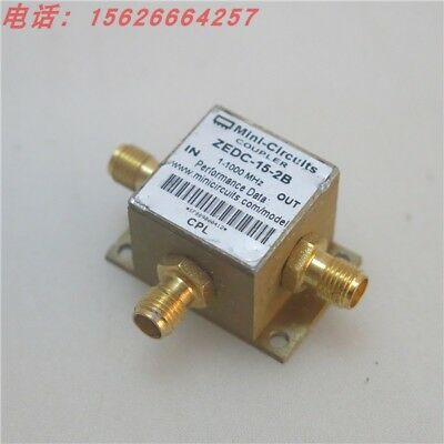 Mini-Circuits ZEDC-15-2B 1-1000MHz 15db RF SMA COUPLER