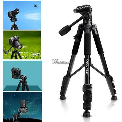 Portable Flexible Camera Tripod 4 Sections Stand for DSLR WT8801 01