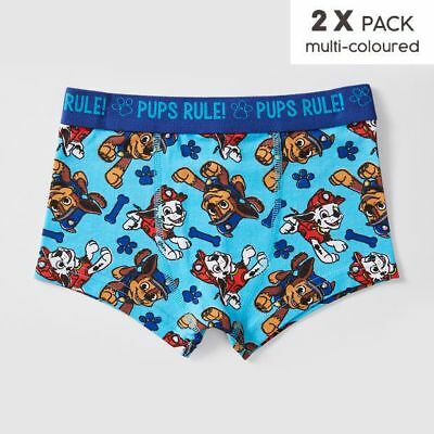 NEW Paw Patrol 2 Pack Trunks Kids