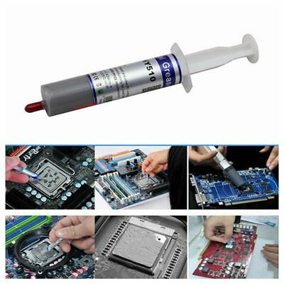 HY510 Grey Thermal Conductive Grease Paste For CPU GPU Chipset Cooling 30g