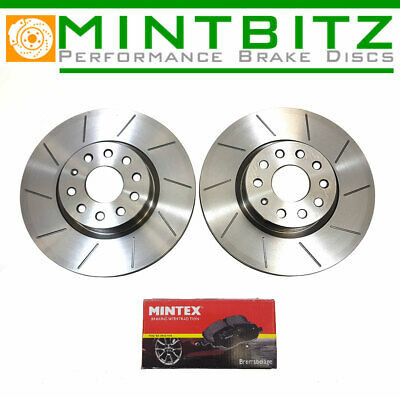 Ford Mondeo 00-07 Grooved Only Front Brake Discs & Pads