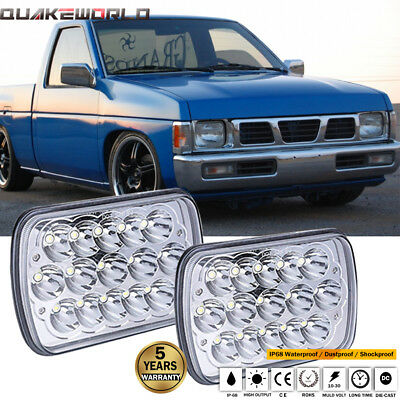 """DOT 7x6""""LED Headlights Sealed Replacement H6054 H6014 For Nissan Pickup Hardbody"""