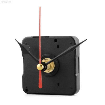 Silent Clock Quartz Movement Mechanism Red and Black Hand Part Repair Tool