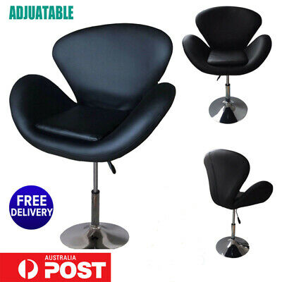 Professional Hairdressing Barber Hair Salon Chair Cutting Seat PU Leather Black