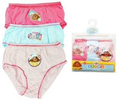Girls Briefs 3 Pack Knickers Hey Duggee Cotton Underwear 18 Months to 5  Years 68d5b4751