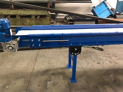 New Conveyor Belt System 800mm wide belt x 4000mm long
