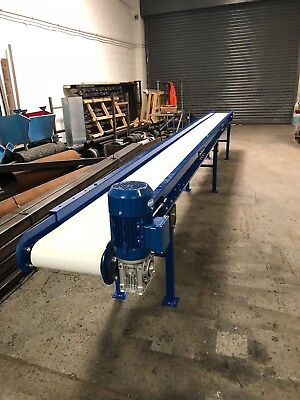 New Conveyor Belt System 1000mm wide belt x 1000mm long
