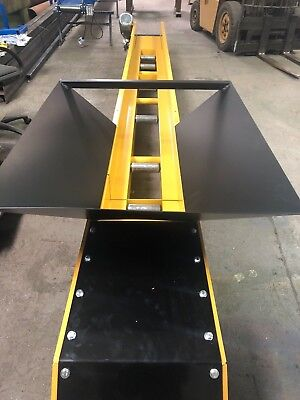 Conveyor belt system modular design Swift T450 110v, basement excavation, 3m