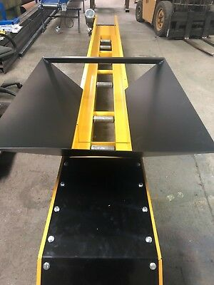 Conveyor belt system modular design Swift T450 110v, basement excavation, 15m