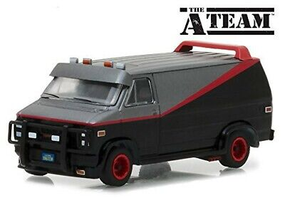 A-TEAM Modello DieCast Van GMC VANDURA 1983 B.A. BARACUS Scala 1/64 Greenlight