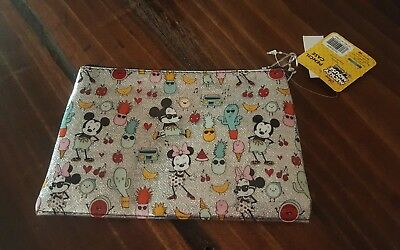 New Target Exclusive Disney Mickey Mouse And Friends Pencil Case Makeup Bag