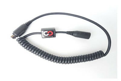 Autocom 2130 Coiled 7 Pin Headset Extension Lead With Socket For Ear Speakers
