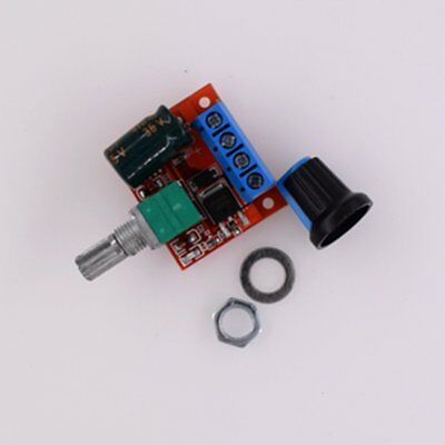 PWM DC Motor Governor Speed Controller Switch Function LED Dimmer ModuleQC