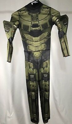 disguise inc master chief classic costume bodysuit boys small 4 6 halo 89966l