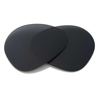 bf95d3cc44 100% Black Polarized Replacement Lenses for-RayBan Aviator RB3025 58mm  Protected