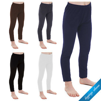 Childrens Kids Girls Full Length Leggings age 2 3 4 5 6 7 8 9 10 11 12 13