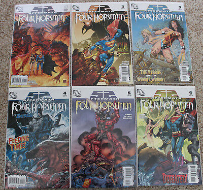 52 Aftermath The Four Horsemen Set 1-6 Complete series ALL NM+